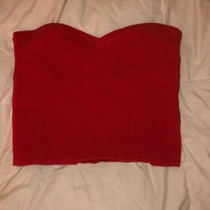 Urban outfitters ribbed tube top